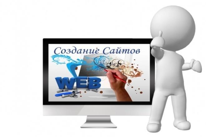 создам простой сайт 1 - kwork.ru
