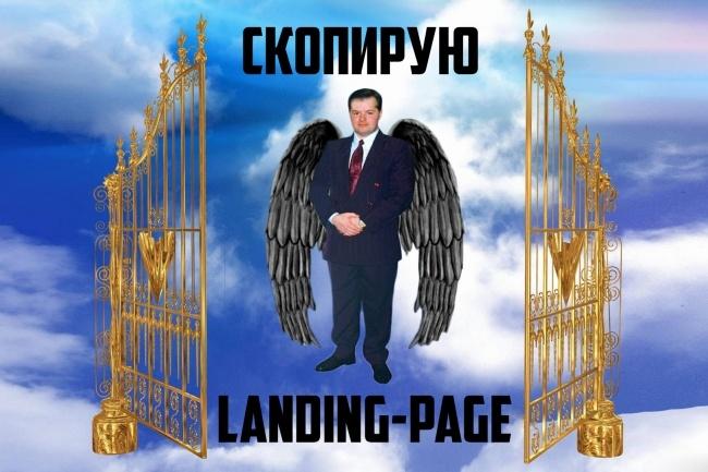 Копия лендинга под ключ 1 - kwork.ru