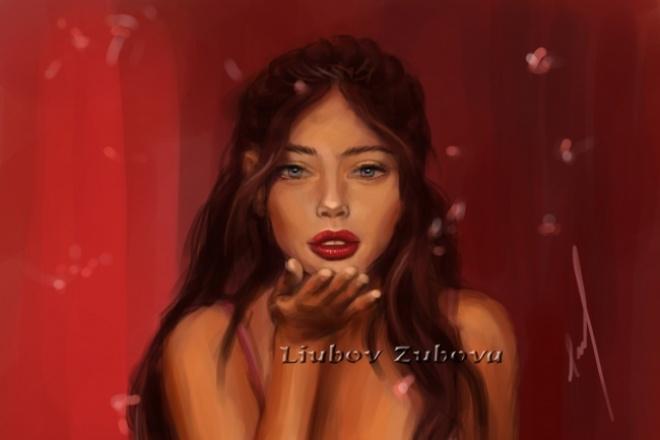 Нарисую Ваш цифровой портрет 1 - kwork.ru
