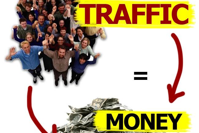 организую трафик на сайт, интернет-магазин, профиль (группу соц.сети) 1 - kwork.ru