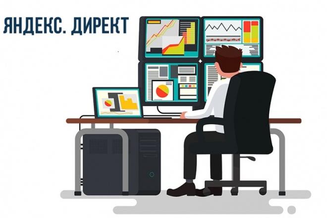 Рекламная кампания в Яндекс.Директ под ключ 1 - kwork.ru