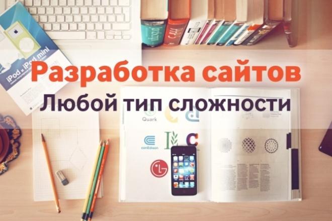 Создание любых сайтов под ключ на Wordpress, DLE и других CMS 1 - kwork.ru