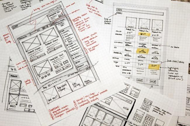 Прототип сайта, приложения 1 - kwork.ru