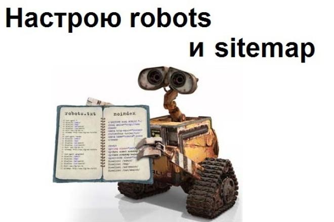 Настрою файлы robots.txt и sitemap.xml 1 - kwork.ru