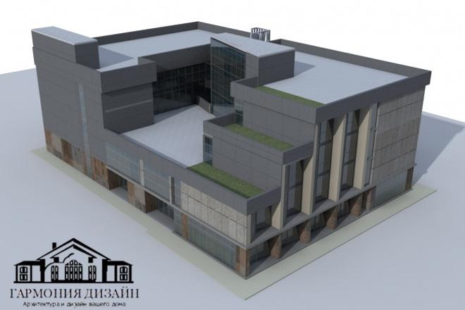 Создание 3D модели здания или конструкцииМебель и дизайн интерьера<br>Создание 3D модели любой сложности по заданию. Создание зданий, помещений, планировок, архитектурных форм, строительных конструкций и т. д.<br>