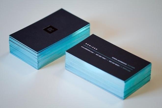 Сделаю визитку одностороннююВизитки<br>Вы можете заказать эксклюзивные визитки, оформив заказ именно здесь и сейчас! Дорабатываю и вношу правки до полного утверждения. Вы сможете через сутки получить уже готовый дизайн визитки.<br>