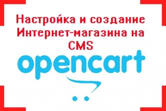 Настройка open cart и других CMS систем 1 - kwork.ru