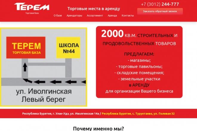 Делаю простые сайты 1 - kwork.ru