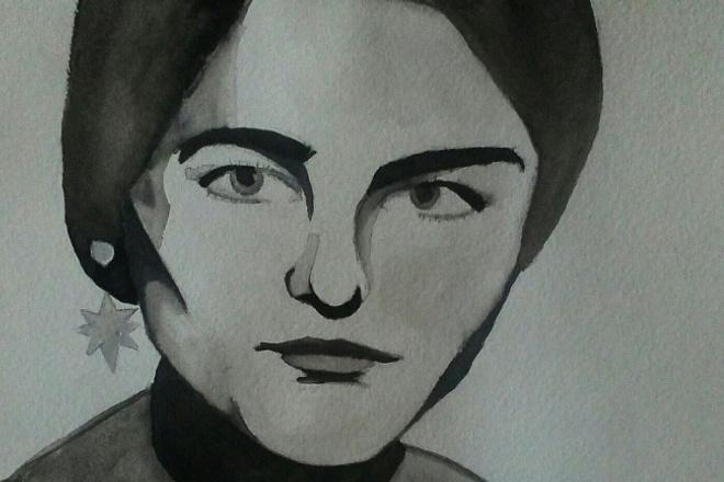 Рисую портреты 1 - kwork.ru