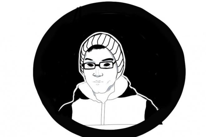 Создам портреты и шапки для сайтов и youtube в стиле арт 1 - kwork.ru