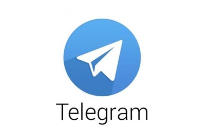 сделаю чат-бот в Telegram 1 - kwork.ru