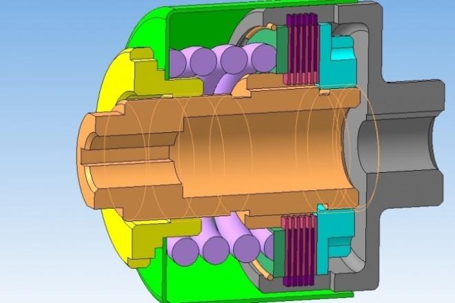 Создам 3D-модель в Компас 3DФлеш и 3D-графика<br>Создам 3D модель в Компас 3D V13/14/15/16 по Вашему чертежу, фотографии чертежа или эскизу. Также при необходимости сделаю сборку моделей бесплатно. По вашему требованию модель и/или сборка могут быть параметризованными, что входит в кворк как дополнительная опция.<br>