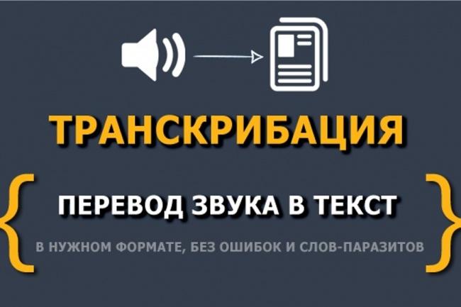 Расшифровка аудио в текстНабор текста<br>Расшифрую аудио в текст, в любые форматы. Язык: Русский, Английский, Украинский Размер аудио: 15 мин Срок: до 72 часов<br>