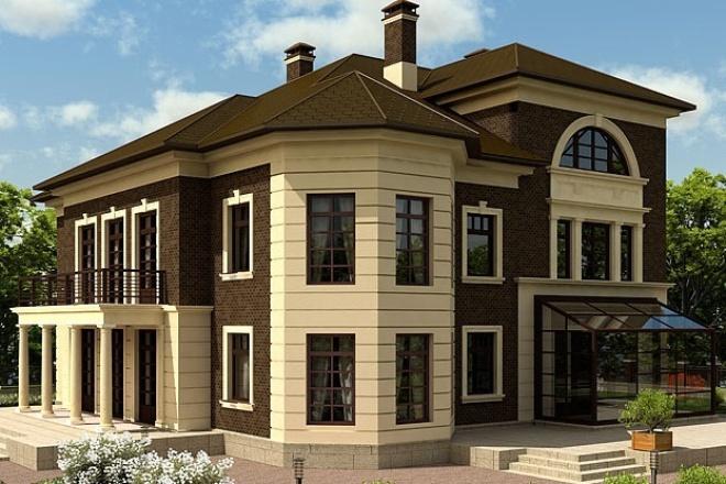 Выполню проект вашего загородного дома 1 - kwork.ru