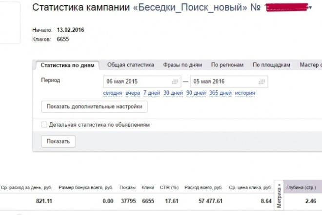 настройка Директ и Adwords 1 - kwork.ru