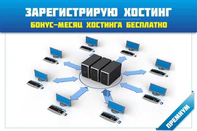 Зарегистрирую и подготовлю хостинг + бонус месяц хостинга бесплатно 1 - kwork.ru