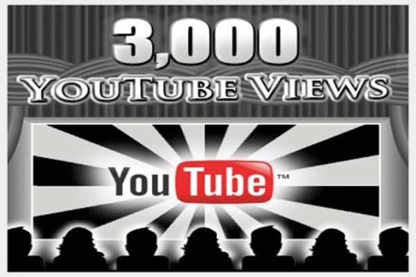 3000 просмотров Вашим видео на YouTubе. Спешите предложение ограничено 1 - kwork.ru
