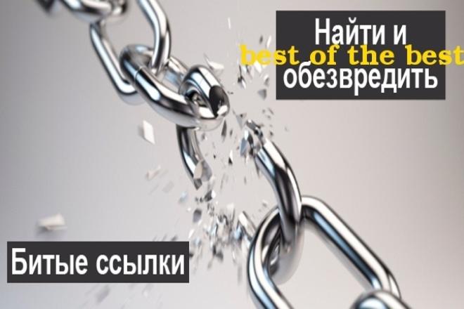 """Проверю ваш сайт на """"Битые ссылки"""" и катринки (Broken link) 1 - kwork.ru"""