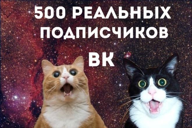 Накрутка подписчиков ВК 1 - kwork.ru