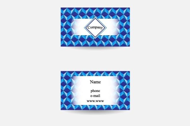 Создам 3 вида визиток 1 - kwork.ru