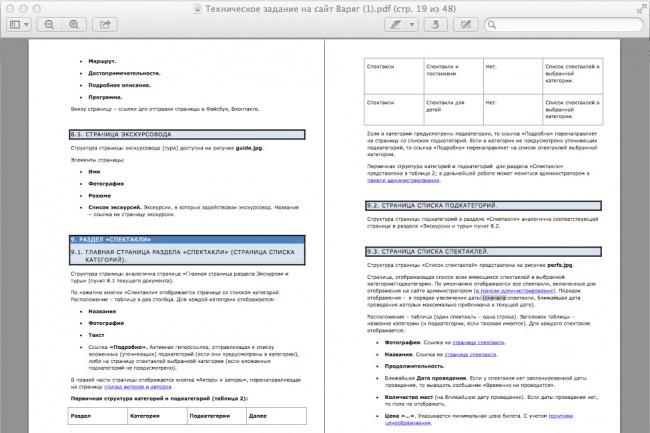 разработаю техническую документацию (ТЗ, хелп, мануал) 1 - kwork.ru