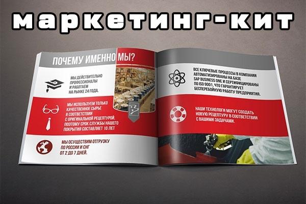 Разработаю маркетинг-кит компании - продающее предложение 1 - kwork.ru