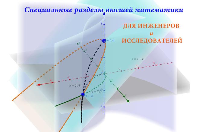 Высшая математика - репетитор для специалистов, любой уровень 1 - kwork.ru