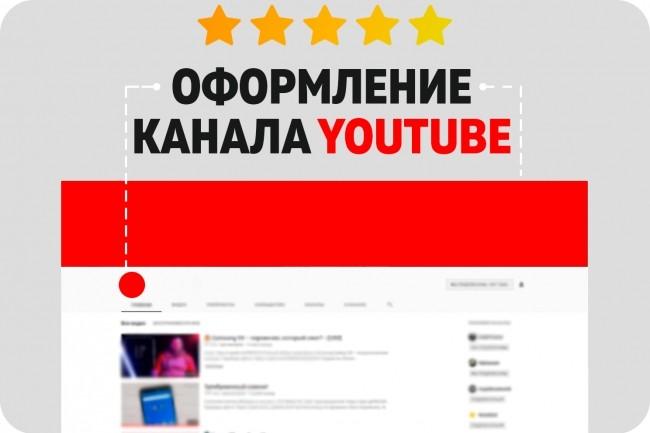 Оформлю канал YouTube 22 - kwork.ru