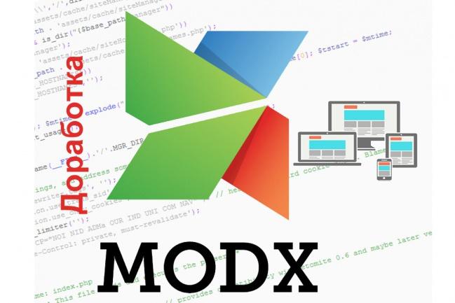 Доработаю сайт на MODx EvoДоработка сайтов<br>Исправлю ошибки, оптимизирую и внесу доработки в функционал вашего сайта на MODx Evo. Опыт работы более 6 лет, от простых сайтов и LandingPage до интернет-магазинов.<br>