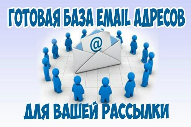 Готовые БАЗЫ email адресов ДЛЯ рассылки 1 - kwork.ru