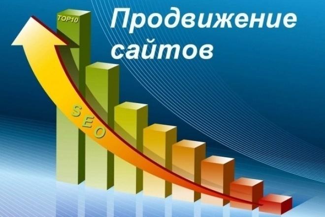 продвину ваш сайт в ТОП10 поисковых систем 1 - kwork.ru