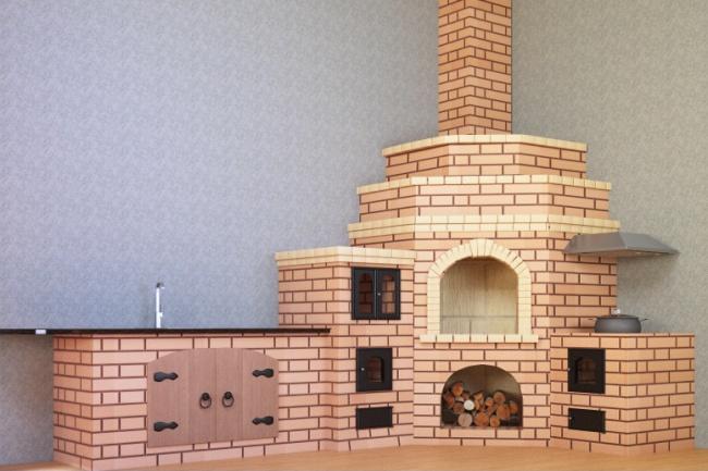 3D визуализацияФлеш и 3D-графика<br>Моделирование по чертежу модели, например камина, также это может быть любой элемент архитектуры. Модель вписанная в интерьер и показывает, как она будет выглядеть в реальности.<br>