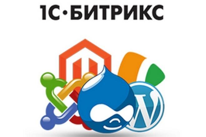 перенесу сайт на cms 1c bitrix 1 - kwork.ru