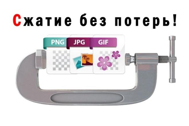 Сжимаю фото без потери качества 1 - kwork.ru