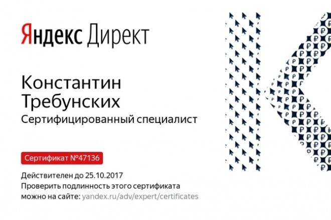 Создам контекстную рекламу 1 - kwork.ru