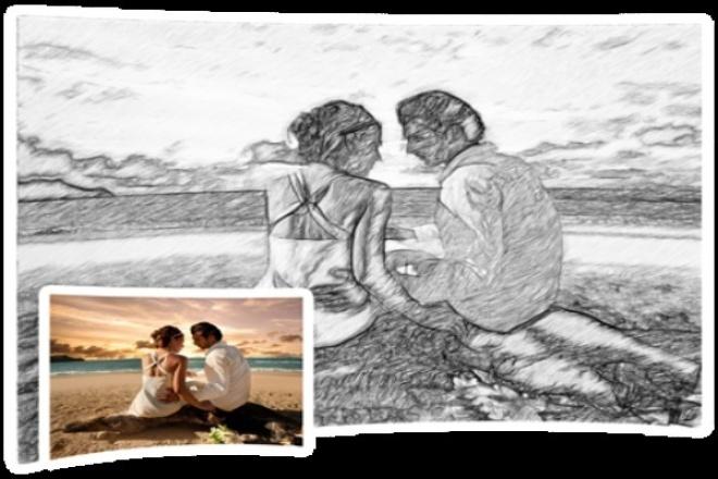 Рисунки и картины + дудл видеоролик из фотоОбработка изображений<br>Удивите , сделайте не вероятно приятно любимым , близким , друзьям за цену одного цветка ! Из фотографии Я создам произведение искусства на выбор: -Рисунок простым карандашом + видео создания рисунка , Ваша подпись по желанию. -Картина маслом + видео создания картины , Ваша подпись по желанию. Рисунки и картины можно распечатывать на принтере и помещать в рамки , или выкладывать в соц.сети , на пример Вконтакте. Видео также можно постить в социальные сети. Лучшего предложения Вам не найти сети. Радуйтесь и делайте счастливее тех кто вам дорог!<br>