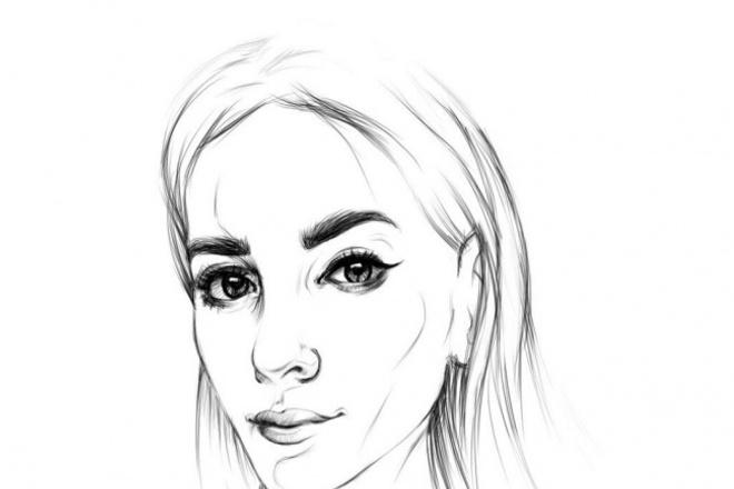 Напишу портретИллюстрации и рисунки<br>Напишу ваш портрет в собственном стиле.Портреты для аватарок социальных сетей, или подарок для друзей.<br>