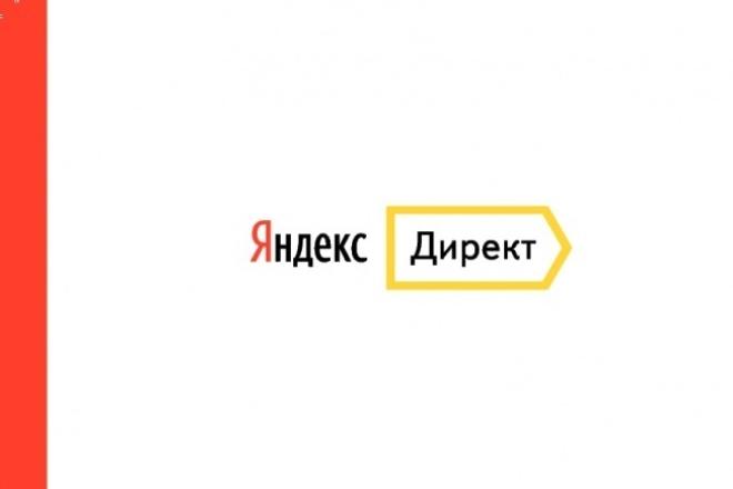 Настройка Яндекс.Директ 1 - kwork.ru
