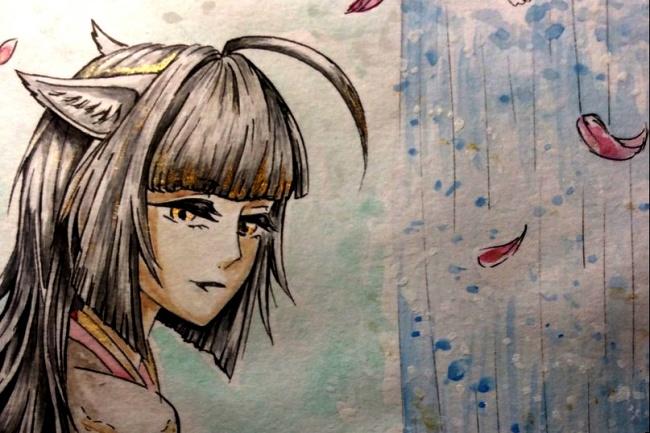 Нарисую Вам персонажа в стиле аниме 1 - kwork.ru