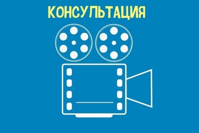 Проконсультирую в создании дудл-роликов в скайпе 1 - kwork.ru