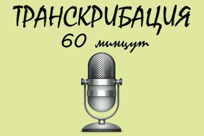 Сделаю транскрибацию, перевод из аудио, видео в текст 1 - kwork.ru