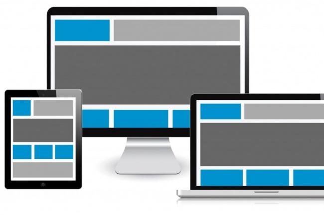 Адаптивная версткаВерстка и фронтэнд<br>Сверстаю страницы на HTML/CSS Мои гарантии : Адаптивность Кроссбраузерность Валидность Быстрое исполнение Возможна последующая интеграция с CMS opencart<br>