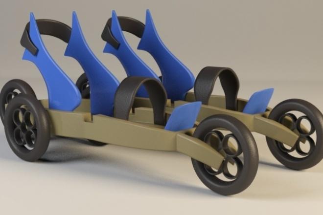Создам 3D модель по вашим чертежам и эскизам 1 - kwork.ru