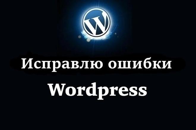 Исправлю ошибки на сайте Wordpress 1 - kwork.ru