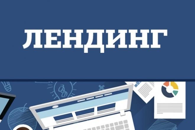 Скопирую любой landing page 1 - kwork.ru