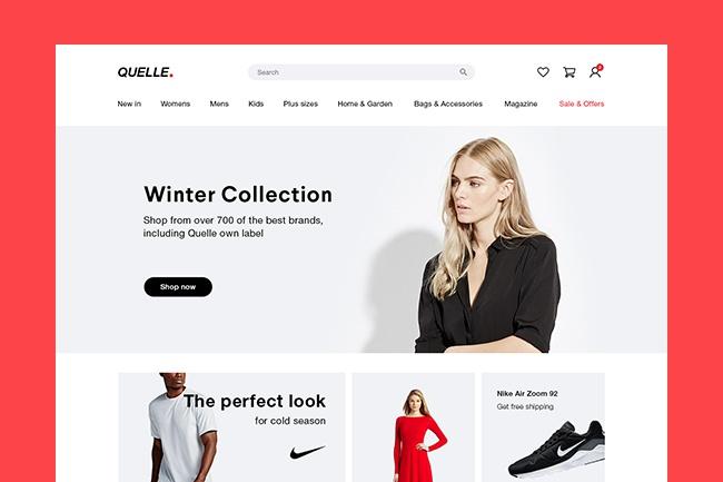 Современный веб-дизайн сайтов, лендингов, интернет-магазинов 1 - kwork.ru