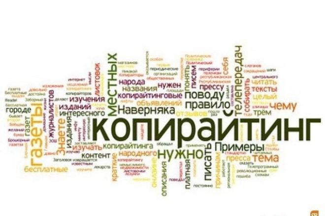 Напишу уникальный текст 1 - kwork.ru