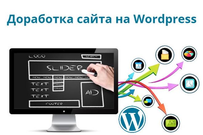 Выполню доработку сайта Wordpress 1 - kwork.ru