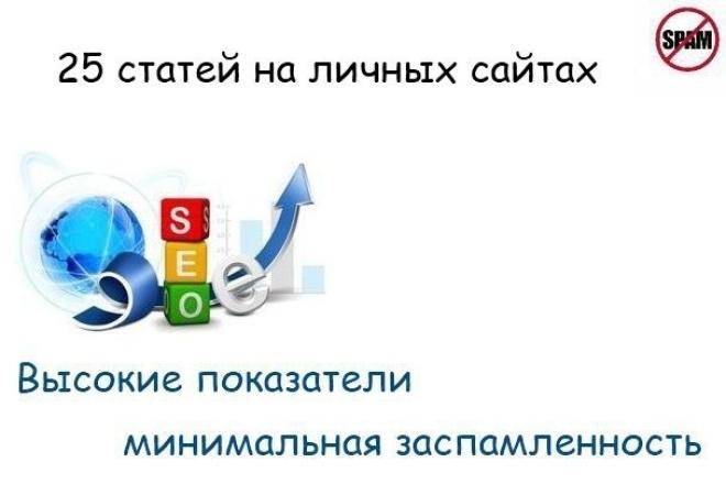 Размещаю 25 статей в личной сетке сайтов 1 - kwork.ru