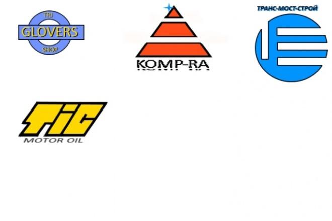 3 варианта логотиповЛоготипы<br>Каждый проект оригинален, подхожу к работе с ответственностью. В случае провала сроков работы, проект предоставляется без оплаты (бесплатно). Имею обширную базу воображения. Ко всему подхожу серьёзно, но творчески.<br>
